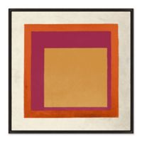 Out of Box 31.5-Inch Square Framed Canvas Wall Art