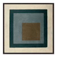 Out of Box II 31.5-Inch Square Framed Canvas Wall Art