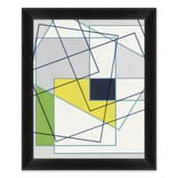 Abstract III 28.5-Inch x 34.5-Inch Paper Framed Print Wall Art