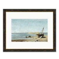 Boat 31.5-Inch x 25.5-Inch Paper Framed Print Wall Art
