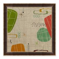 Abstract IV 27.5-Inch Square Paper Framed Print Wall Art