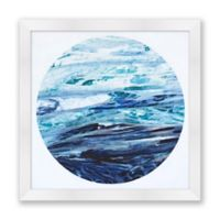Ocean Moon II 20-Inch Square Framed Wall Art