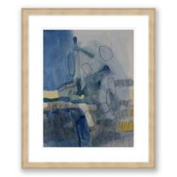 Color & Shape 2 20-Inch x 24-Inch Abstract Framed Paper Print