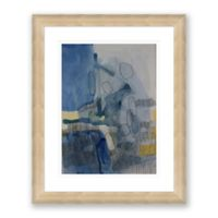 Color & Shape 2 25.5-Inch x 31.5-Inch Abstract Framed Paper Print