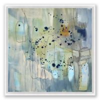 Abstract Color 24-Inch x 24-Inch Framed Canvas Wall Art