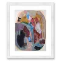 Color & Shape 1 20-Inch x 24-Inch Abstract Framed Paper Print