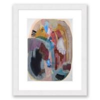 Color & Shape 1 25.5-Inch x 31.5-Inch Abstract Framed Paper Print