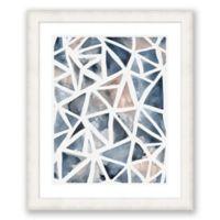 Geometric Abstract 1 24.5-Inch x 29.5-Inch Framed Wall Art