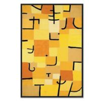 Abstract 26.75-Inch x 38.75-Inch Framed Canvas Wall Art