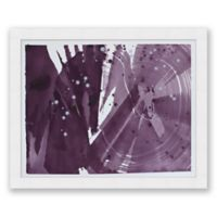Violet 8 31.5-Inch x 25.5-Inch Framed Diptych Wall Art