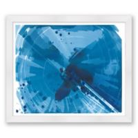 Phthalo V 20-Inch x 17-Inch Framed Wall Art
