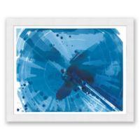 Phthalo V 31.5-Inch x 25.5-Inch Framed Wall Art