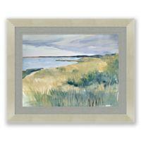 Dune Grass 25.5-Inch x 31.5-Inch Framed Print Wall Art