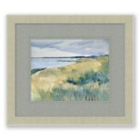 Dune Grass 13.5-Inch x 15.5-Inch Framed Print Wall Art