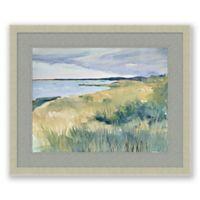 Dune Grass 19.5-Inch x 23.5-Inch Framed Print Wall Art