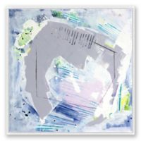 Alternate Abstract 48-Inch Square Framed Canvas Wall Art