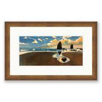 Big Cannon Beach 31.5-Inch x 20-Inch Paper Print Framed Wall Art