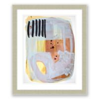 Midcent Abstract 6 19.5-Inch x 23.5-Inch Abstract Framed Print Wall Art