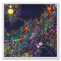 Fantasy Abstract 40-Inch Square Framed Canvas Wall Art