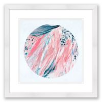 Abstract Colored 20-Inch Square Paper Framed Print Wall Art