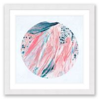 Abstract Colored 31.5-Inch Square Paper Framed Print Wall Art