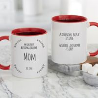 My Greatest Blessings Call Me Personalized 11oz. Coffee Mug