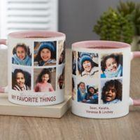 My Favorite Things Personalized 11 oz. Coffee Mug in Pink