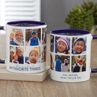 My Favorite Things Personalized 11 oz. Coffee Mug in Blue