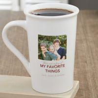 My Favorite Things Personalized 16oz. Latte Mug