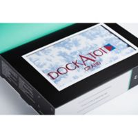 DockATot® Grand Spare Cover in Toile de Jouy Dusty Blue (Dock Sold Separately)