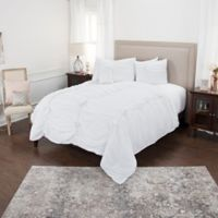 Rizzy Home Aiyana King Quilt in White