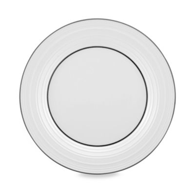 Mikasa® Swirl Banded 11 1/4-Inch Dinner Plate  sc 1 st  Bed Bath \u0026 Beyond & Buy Black Mikasa Dinner Plates from Bed Bath \u0026 Beyond