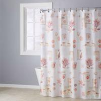 Rustic Seaside Shower Curtain