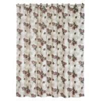HiEnd Accents Forest Pines Shower Curtain
