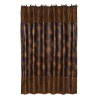 HiEnd Accents Highland Lodge Shower Curtain In Chocolate