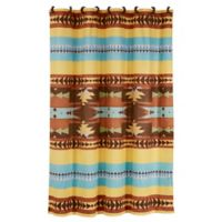 HiEnd Accents Meza Southwest Shower Curtain