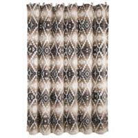 HiEnd Accents Chalet Aztec-Inspired Shower Curtain
