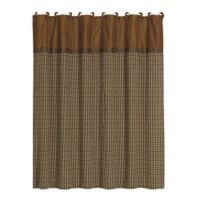 HiEnd Accents Crestwood Houndstooth Shower Curtain