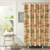 Tommy Bahama® Siesta Key Cantaloupe Shower Curtain