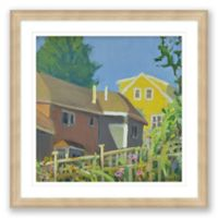 Over the Fence Framed Print Wall Art