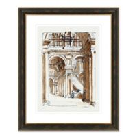 European Architecture II Framed Print Wall Art