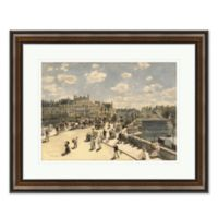 European City Life II Framed Print Wall Art