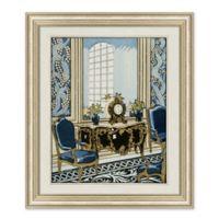European Interior 27.5-Inch x 23.5-Inch Framed Print Wall Art