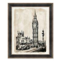 Big Ben 26.25-Inch x 32.25-Inch Framed Wall Art