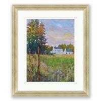 Evening on Farm 24.5-Inch x 20.5-Inch Framed Print Wall Art