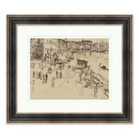 City Sketch 28.25-Inch x 24.25-Inch Framed Print Wall Art