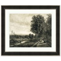 Country Landscape 41.5-Inch x 35.5-Inch Framed Print Wall Art