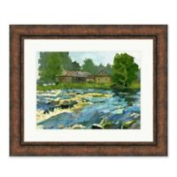 Country Life II 35.75-Inch x 29.75-Inch Framed Print Wall Art