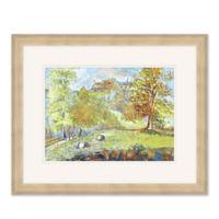 On the Farm II 22-Inch x 18-Inch Framed Print Wall Art