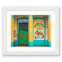 Mercado 27.5-Inch x 23.5-Inch Framed Wall Art